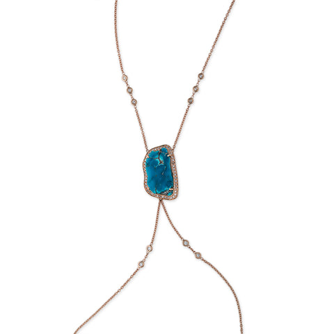 TURQUOISE BODY CHAIN