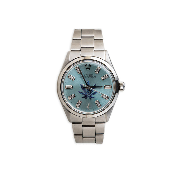BLUE SWEET LEAF CUSTOM VINTAGE ROLEX