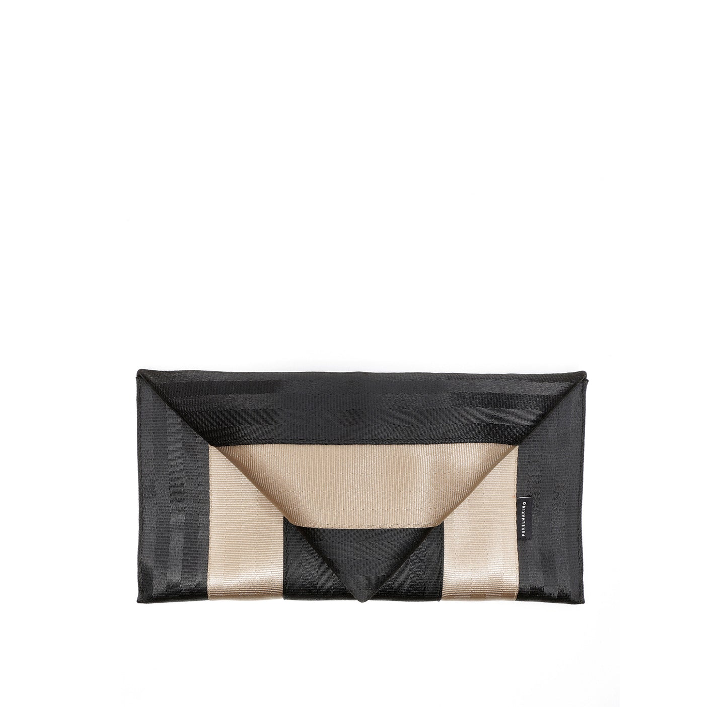 Clutch Black Gold front