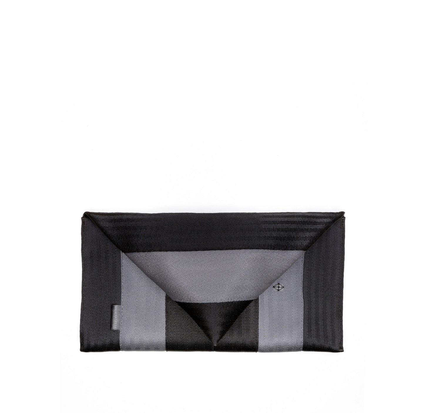 Clutch Black Grey front