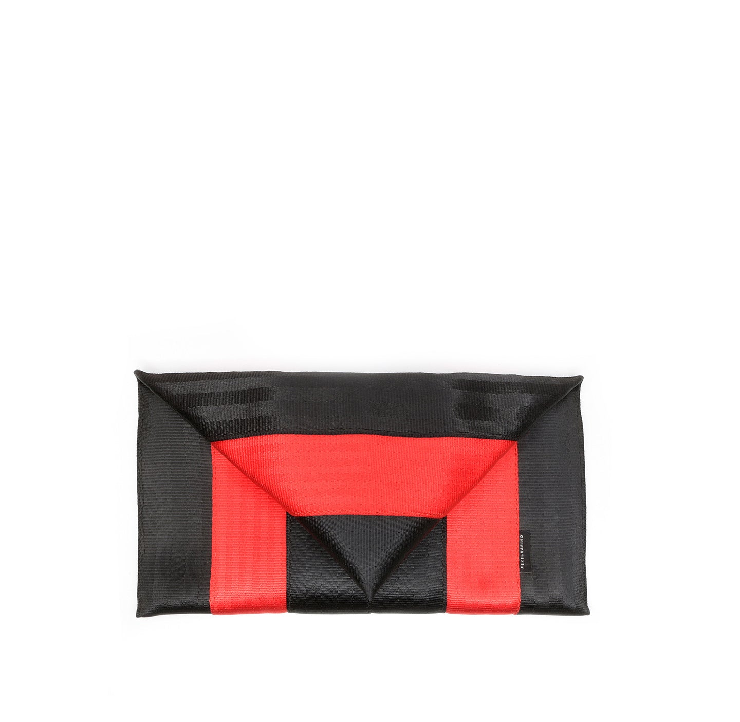 Clutch Black Red front