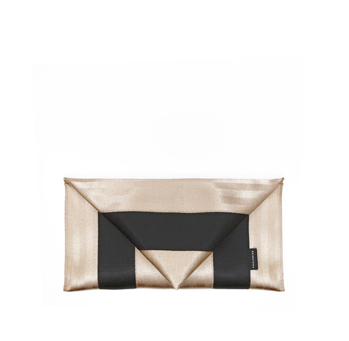 Clutch Gold Black front
