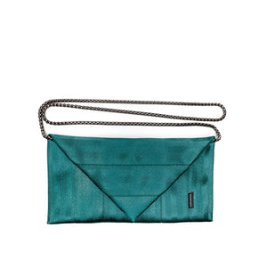 Clutch Green with chain
