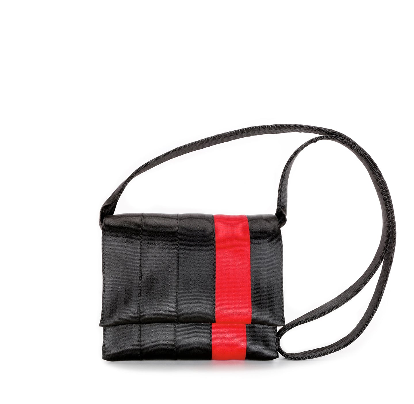 Crossbody Bag Black Red front