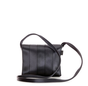 Crossbody Black Purple shine back