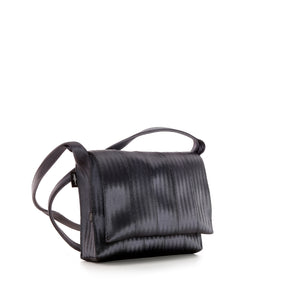Crossbody Black Purple shine left