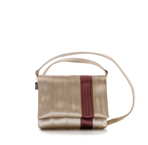 Crossbody Gold Brown front