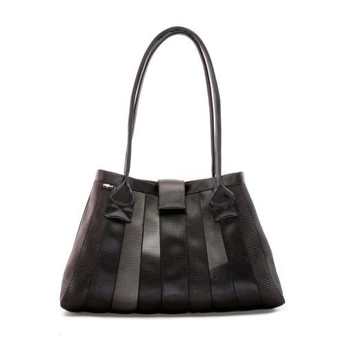 Handbag Black Faded front