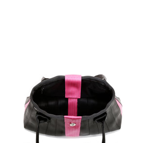 Handbag Black Pink inside