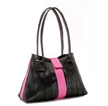 Load image into Gallery viewer, Handbag Black Pink left