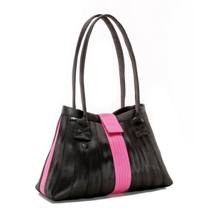 Handbag Black Pink left
