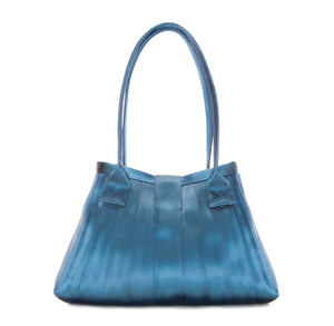 Handbag Blue back