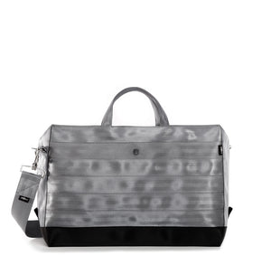 Holdall Silver Grey Black front