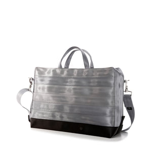 Holdall Silver Grey Black right