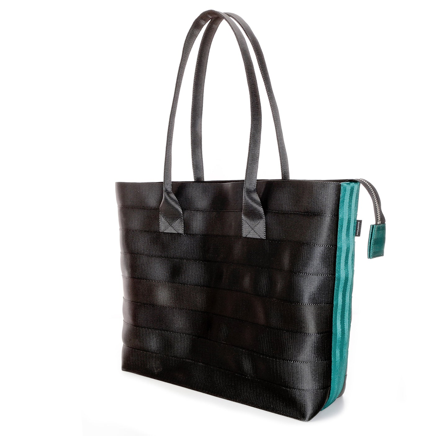 Shopper Tote Black Green right