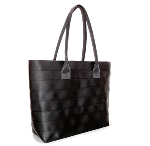 Shopper Tote Black Red left