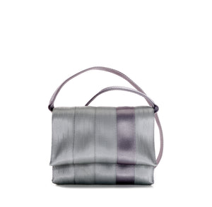 Crossbody Silver Purple front