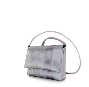 Crossbody Silver Purple right
