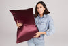 Plum Queen Zippered Pillowcase
