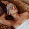 Rose Leopard Sleep Mask