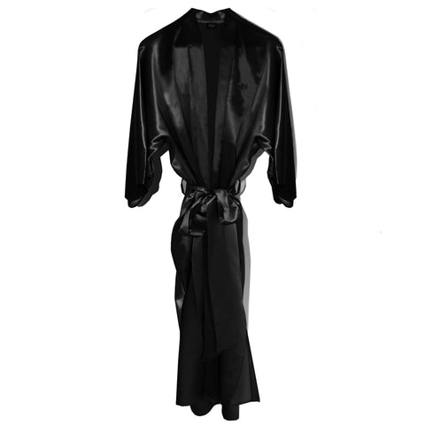 Slipsilk™ Robe - Black