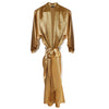 Gold Pure Silk Robe