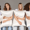 White Queen Zippered Pillowcase