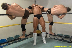 Mark Muscle vs. Zach Reno & Matt Blakewood (Ravaging Savages)