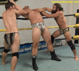 Zach Altovito vs. Zach Reno & Matt Blakewood (Ravaging Savages)