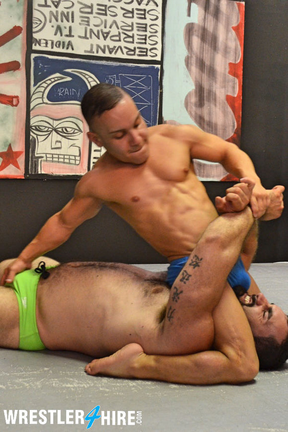 Jaxton Wheeler vs. Ricky Vegas (Muscle4Hire)