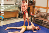 Blake Starr vs. Christian Satinall (Oil Wrestling)