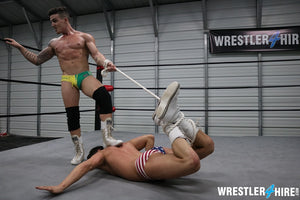 Cam Zagucci vs. Marco Thunder (Rope Match)