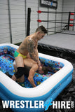 Scrappy vs. Marco Thunder (Oil Wrestling)