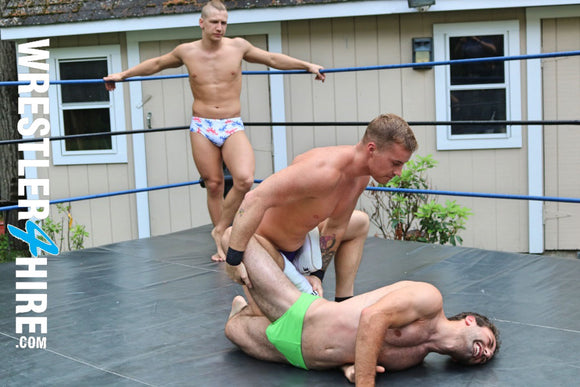 Cameron vs. Austin Tyler vs. Zach Reno (Every Man For Himself)