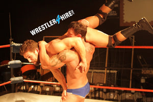Joey Nux vs. Ronnie Pearl (Body Slams & Bear Hugs)