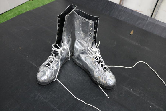 Silver Pro Boots (Size 10)