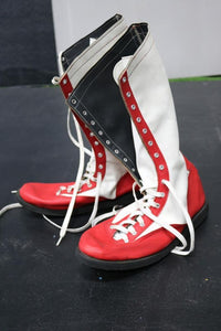 Red & White Pro Boots (Size 10)
