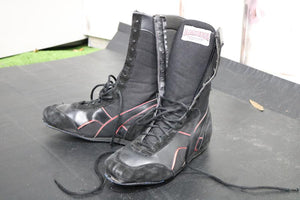 Black with red Boxing Boots (Size 10)