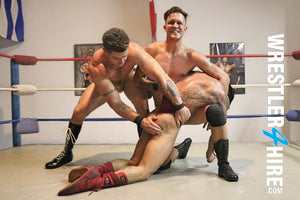 Christian Thorn vs. Trenton Ducati & Rolf Fulton (Double-Teamed)