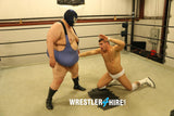 Channing Travolta vs. Big Masked Heel (No Audio)