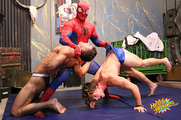 Web Wonder vs. Scrappy & Blake Starr