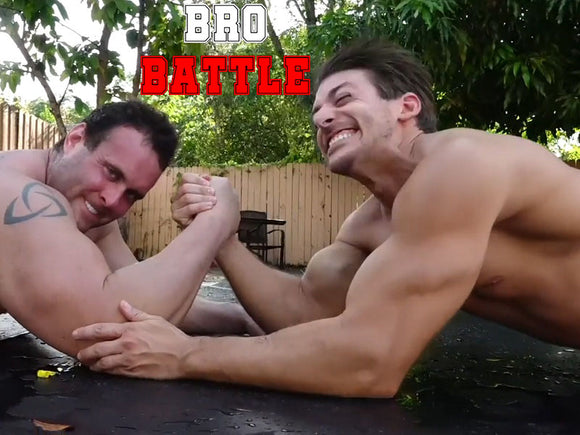 Mark Muscle vs. Z-Man (Bro Battle)
