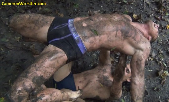 Cameron vs. Young Ady (Mud Wrestling)