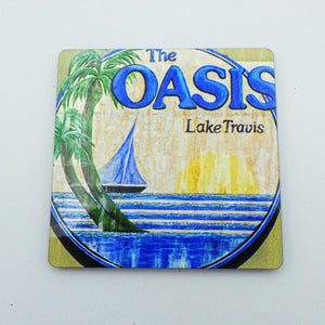 Painted Oasis Logo Magnet