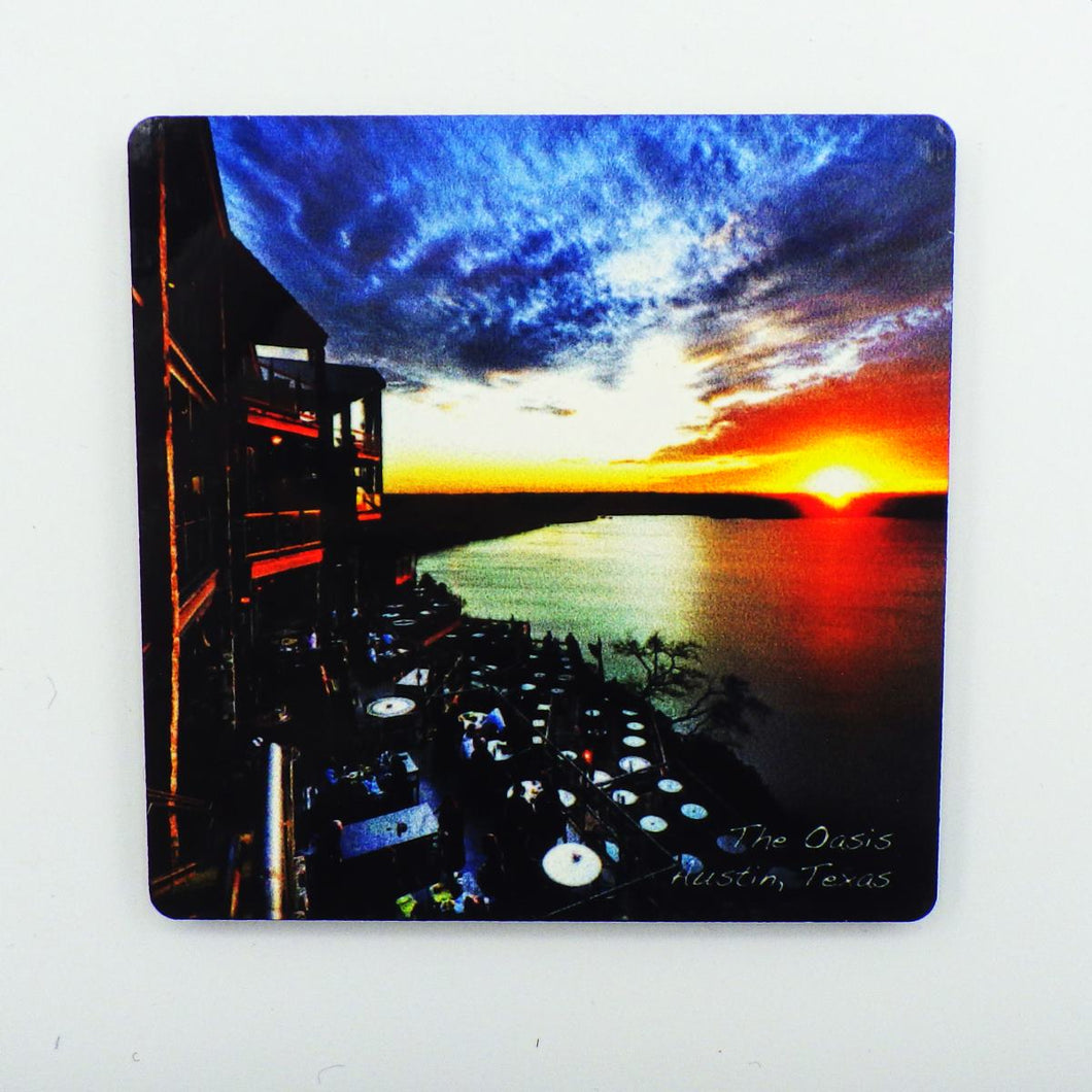 Oasis Sunset Magnet
