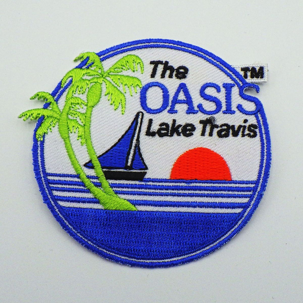 Oasis Logo Sew-On Patch