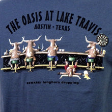 Load image into Gallery viewer, Longhorn Dropping Oasis Tee