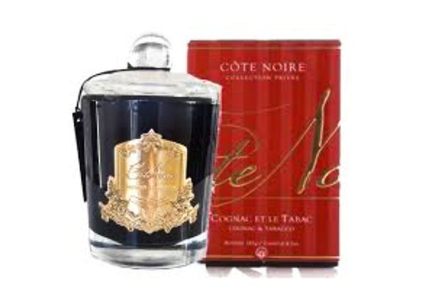 Cote Noir Cognac and Tobacco candle