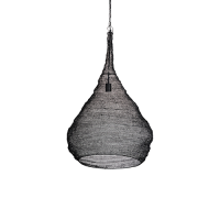 Mesh lamp black XL