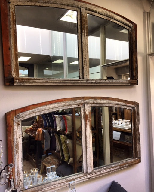 French arched mirrors